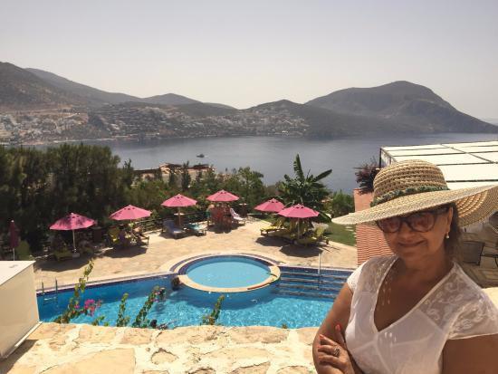 Pool View Picture Of Kalkan Regency Hotel Kalkan