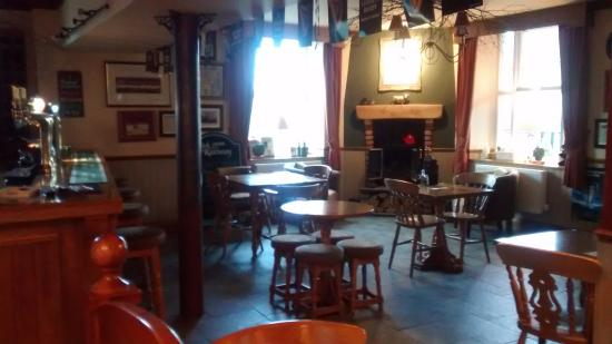 Usk & Railway Inn: bar