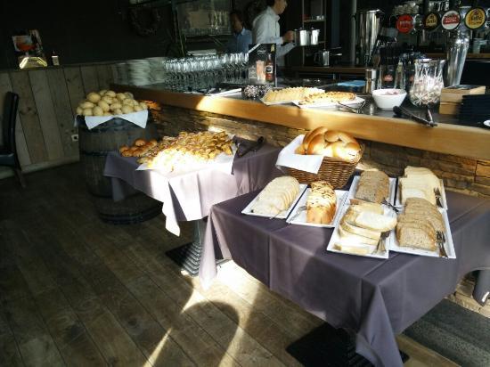 Het District : Ontbijt buffet