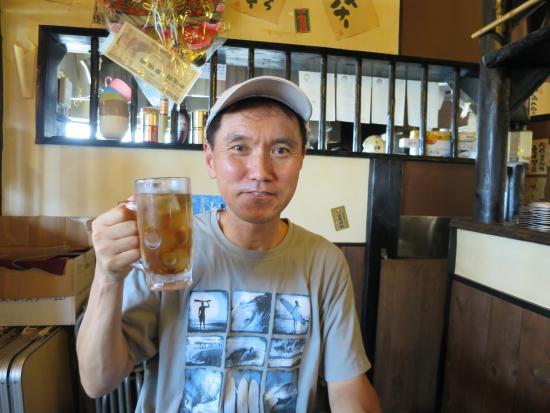 Kikugawa, Jepang: お茶で乾杯!