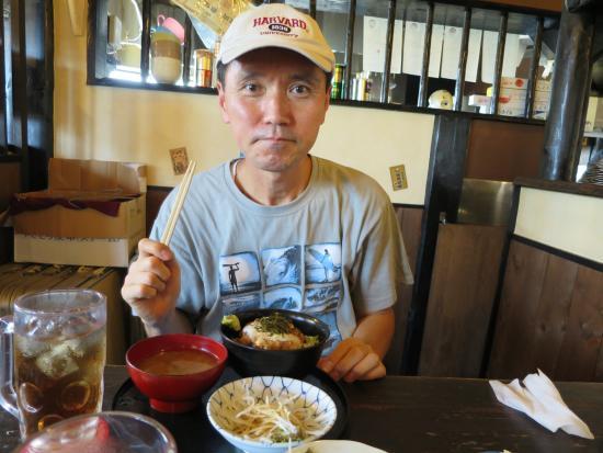 Kikugawa, Jepang: ランチを食べる