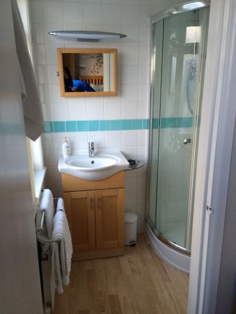 Treliska Guesthouse : en-suite bathroom