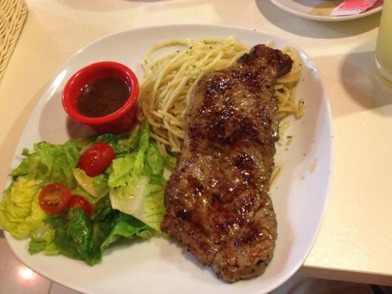 Hot Tomato Express: Sirloin steak