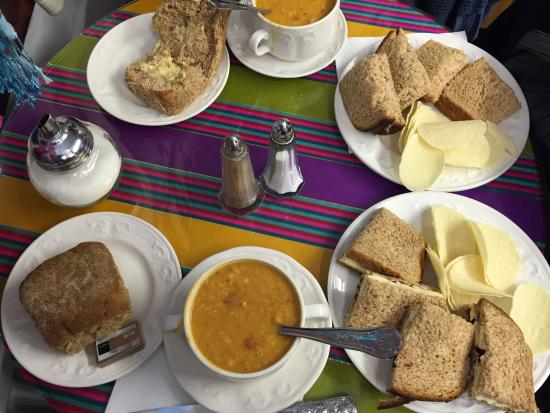 Tea by the Sea: Lovely small tea room run by a couple! I loved the home made soup and we enjoyed the atmosphere