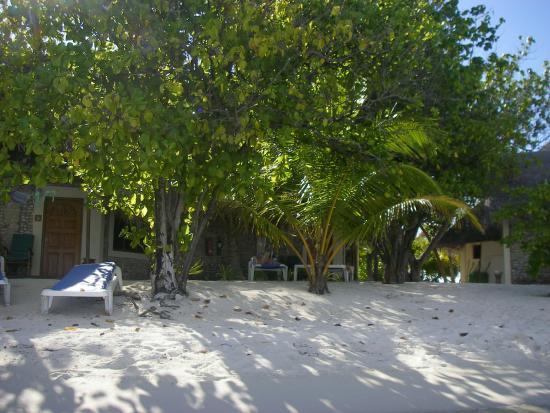 Gasfinolhu Island Resort: Unser Bungi