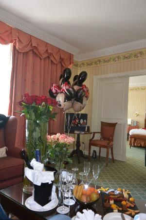 Disneyland Hotel: Anniversaire