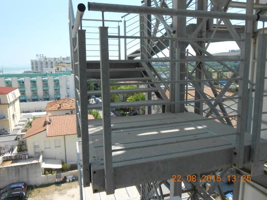 Hotel Europa : vista balcone camera