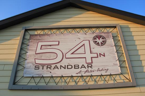 Strandbar 54 Grad Nord