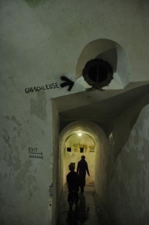 Hotel Zum Turken WWII Bunkers : Tunnels