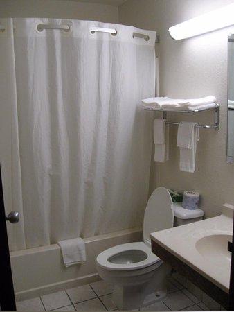 Super 8 Appomattox VA : Bathroom