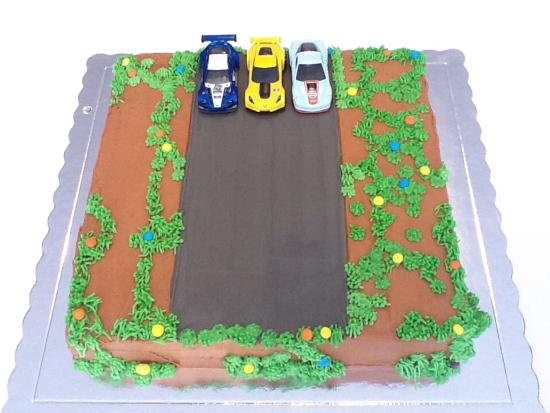 Pleasant Cake Cookie Co Race Car Birthday Cake Picture Of Cake And Funny Birthday Cards Online Elaedamsfinfo
