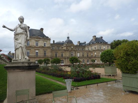 Paris, Frankrike: Palacio de Luxemburgo
