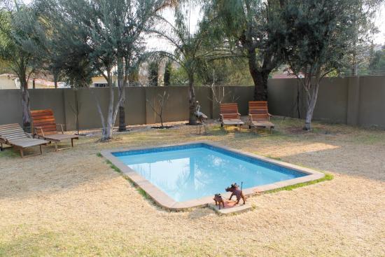 Kleiner pool picture of villa violet windhoek tripadvisor for Kleiner pool