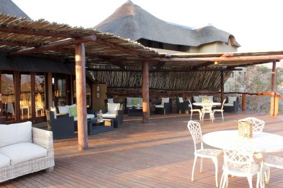 Hoodia Desert Lodge : Sonnendeck