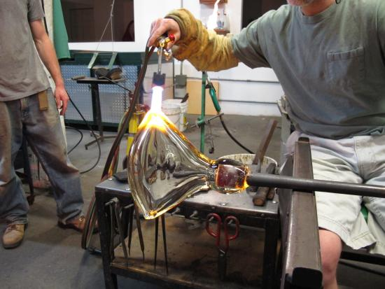 Bernard Katz Glassblowing - Picture of Bernard Katz Glass