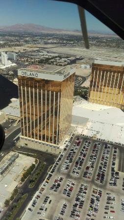 Delano Las Vegas: Aus dem Helikopter