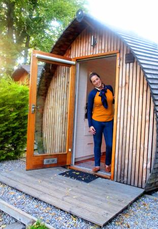 Loch Ness Glamping: Front of Pod