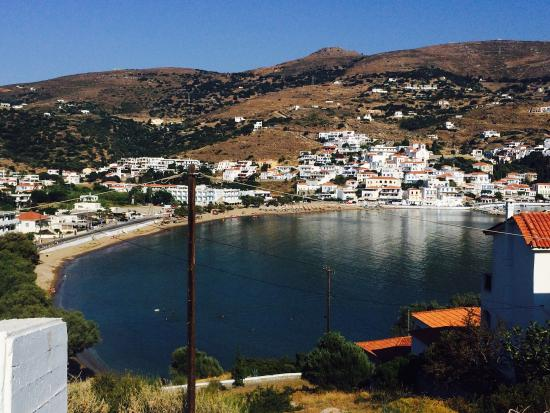 Batsi, Grecia: Beautiful views from Mare e vista