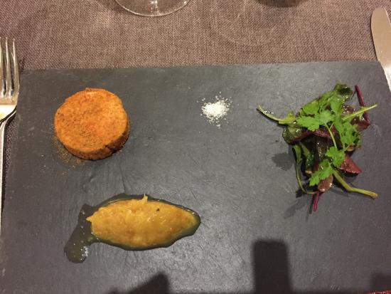 Au Petit Patio: Les entrées, plats et desserts