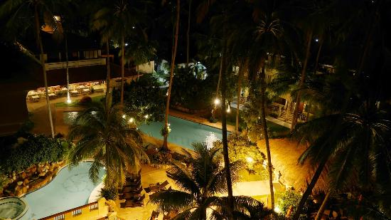 Night Scene Of The Pool Picture Of Costabella Tropical