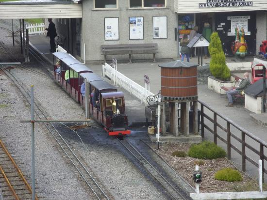 Conwy Valley Railway Museum & Model Shop : The train ride