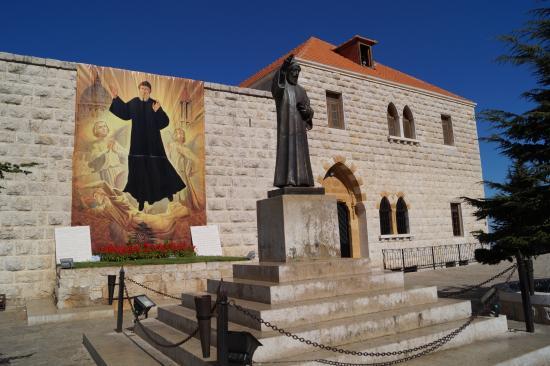 Byblos, Líbano: St Charbel