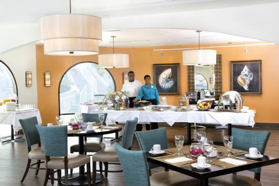Oyster Bay Beach Resort: Infinity Restaurant buffet