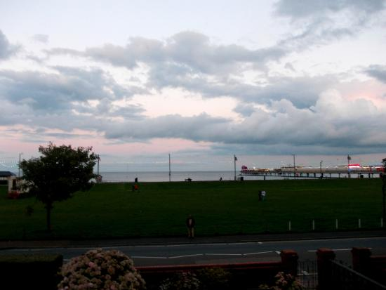 Hotel Bonair: Night View from balcony room 31.08.15