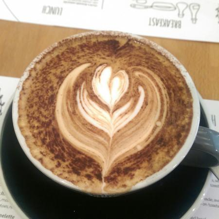 The Circle Eatery : Best coffee ever.