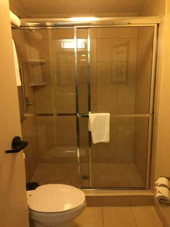 SpringHill Suites Orlando Airport: Shower