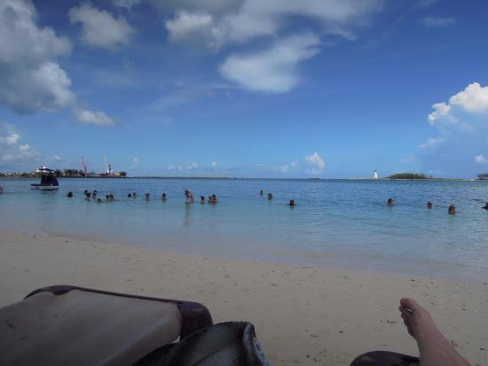 dbef8a7d07956 Junkanoo Beach at The Tiki Bikini Hut - Picture of Tiki Bikini Hut ...