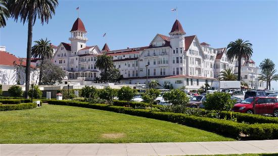 Old Town Trolley Tours Of San Go Coronado Hotel California Used By