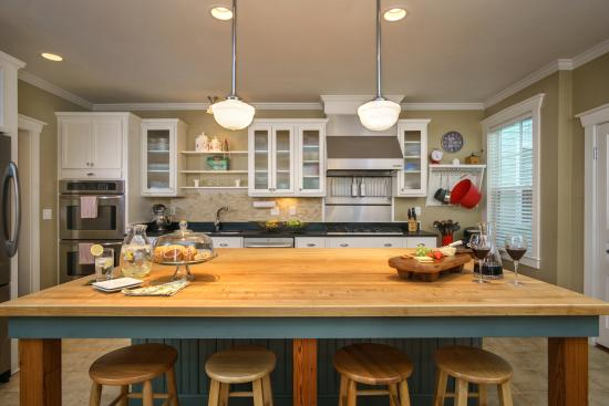 Bell-Clemmons House: Our kitchen is the heart of our home