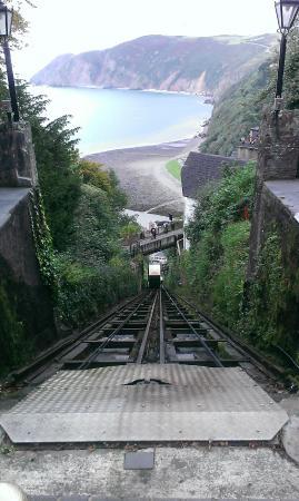 The Bath Hotel: Cliff Railway