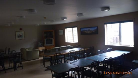 Pangnirtung, Canadá: Eating area