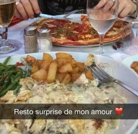 Cafe des Acacias: Très bons plats copieux !!😍