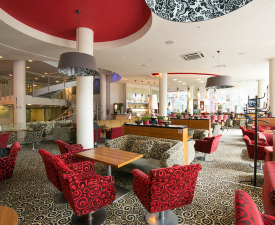 Lobby Bar at the Radisson Blu Hotel Latvija