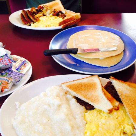 Landrum, Carolina del Sur: Breakfast spread