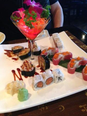 Beautiful Sushi Presentation - Picture of Wokano ...