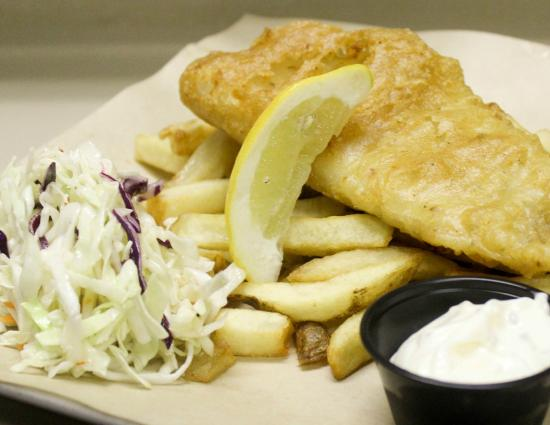 CJ's Tap and Grill: Fish n' Chips