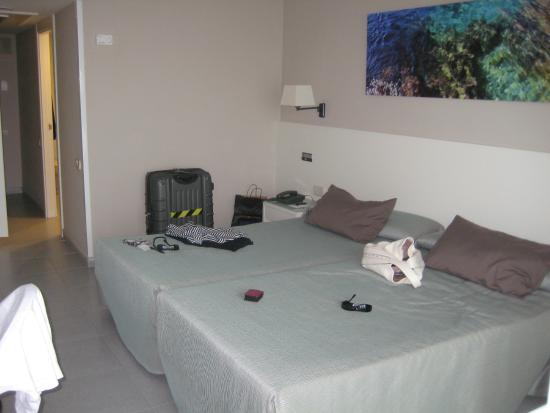 Hotel Calipolis: Our room