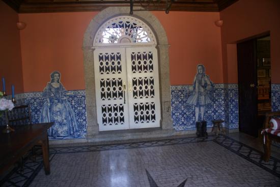 Casa do Visconde de Chanceleiros: Entry
