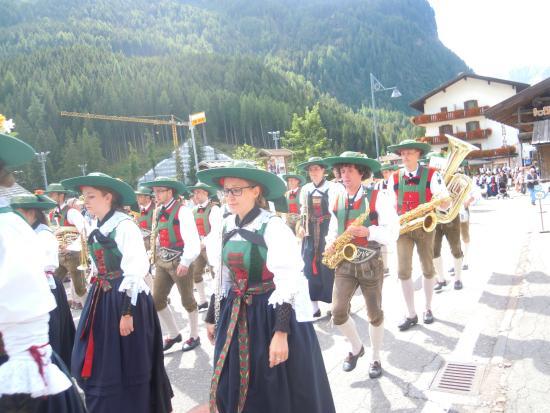 Hotel Villa Campitello: gruppo musicisti