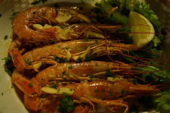 Fish-Inn Restaurant: креветки