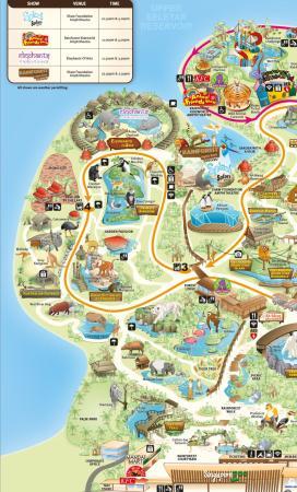 Map  Picture of Singapore Zoo Singapore  TripAdvisor