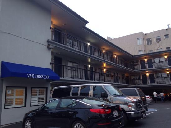 Picture of van ness inn hotel san francisco for Civic motor inn san francisco