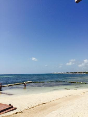 Secrets Silversands Riviera Cancun View On Beach