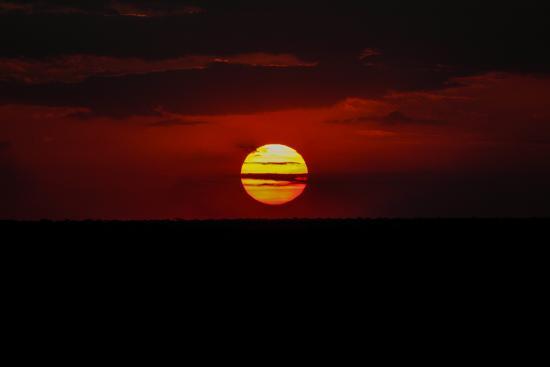 Vumbi Jeep Safaris: Sonnenuntergang