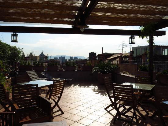 la terrazza - Picture of Bed and Breakfast Le Terrazze di Neapolis ...