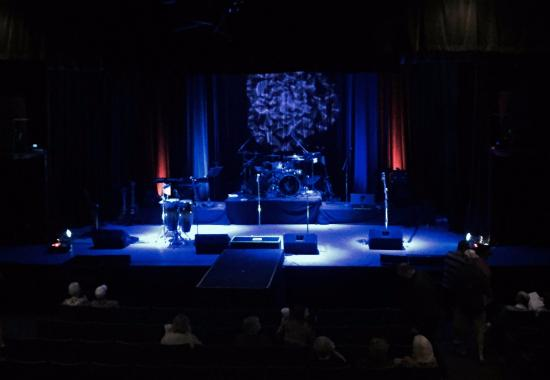 Cactus Theater : Great views of the stage from the balcony box seats.